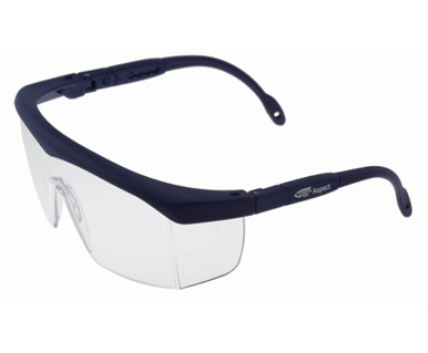 Picture of VisionSafe -130BLCL - Clear Hard Coat Safety Glasses