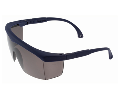 Picture of VisionSafe -130BLSD - Smoke Hard Coat Safety Glasses