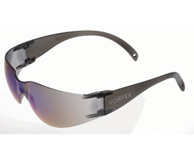 Picture of VisionSafe -212GYBM - Blue Mirror Safety Glasses