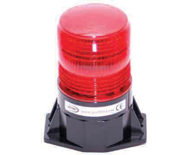 Picture of VisionSafe -AS2211B - SINGLE FLASH TALL STROBE BEACON - Hardwire