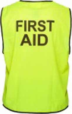 Picture of Stock Printed FIRST AID Day Vest
