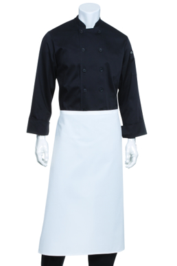 Picture of Chef Works - B3-WHT - White 34 Bar Apron