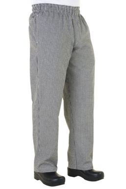 Picture of Chef Works - NBCP - Small Check Basic Baggy Pants