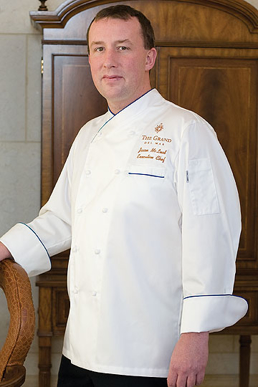 Picture of Chef Works - ECRI - Ritz Egyptian Cotton Chef Coat