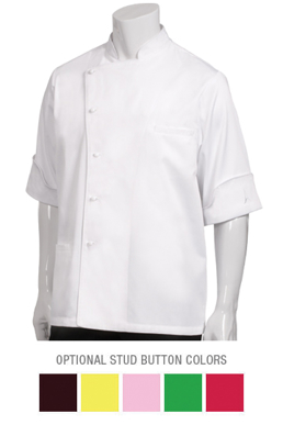 Picture of Chef Works - AROB - Alain Roby Executive Chef Coat
