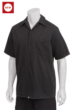Picture of Chef Works - CCSB-CDA - Pinstripe Cook Shirt