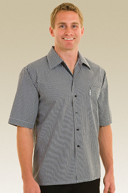 Picture of Chef Works - CSCK - Solid Check Cook Shirt
