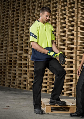 Picture of Syzmik - ZH245 - Mens Hi Vis Astro Polo