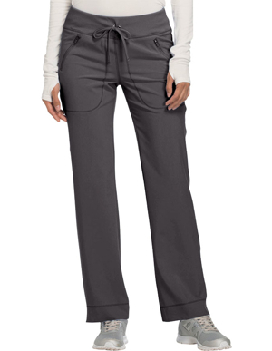 Picture of CHEROKEE-CH-CK100A-Cherokee Infinity Women's Mid Rise Tapered Leg Drawstring Pant
