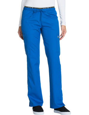 Picture of CHEROKEE-CH-CK003T-Cherokee Luxe Sport Women's Tall Mid Rise Straight Leg Pull-on Scrub Pant