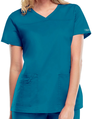 Picture of CHEROKEE- CH-4727-Cherokee Workwear Women's V-Neck Nursing Scrub Top