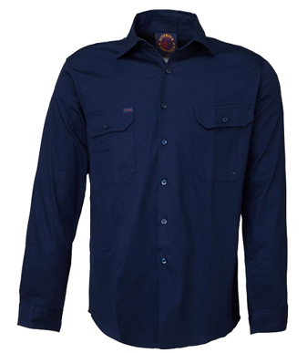 Picture of Ritemate Workwear-RM1000-Open Front Shirts