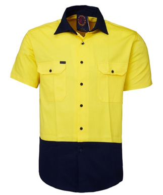 Picture of Ritemate Workwear-RM107V2S-Vented Open Front Light Weight Shirts