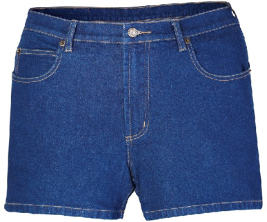 Picture of Ritemate Workwear-RM112TSD-Denim Trucker Short (Jean Short)