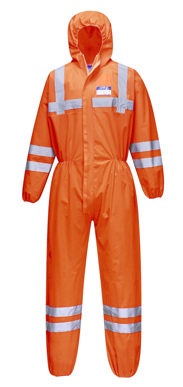 Picture of Prime Mover-ST36-Hi-Vis SMS Coverall (50 Piece