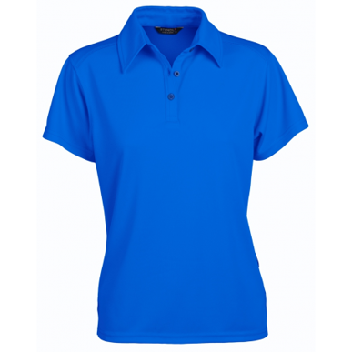 Picture of Stencil Uniforms-1154-Ladies S/S GLACIER POLO