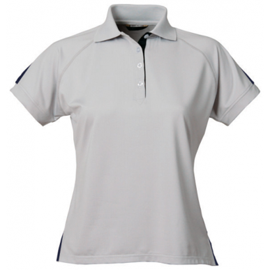 Picture of Stencil Uniforms-1150-Ladies S/S TEAM S/S POLO