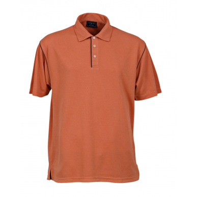 Picture of Stencil Uniforms-1033-Mens S/S BIO-WEAVE POLO
