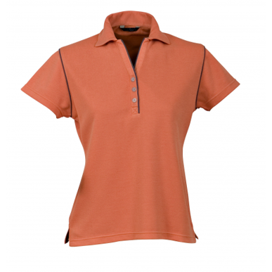 Picture of Stencil Uniforms-1034-Ladies S/S BIO-WEAVE POLO