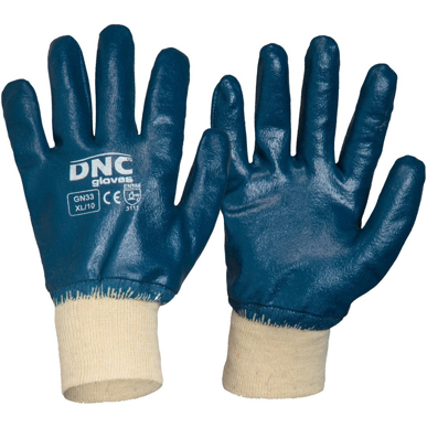 Picture of DNC Workwear-GN33- Blue Nitrile Full Dip