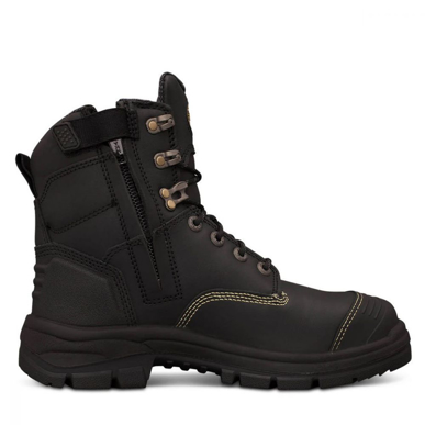 Picture of Oliver Boots-55-345Z-150MM BLACK ZIP SIDED BOOT