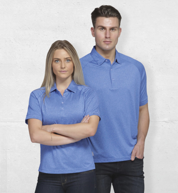 Picture of Gear For Life-WDGMLP-Dri Gear Melange Polo - Womens