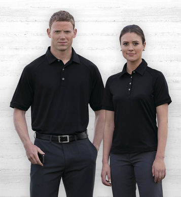 Picture of Gear For Life-WDGVPP-Dri Gear Vapour Polo - Womens