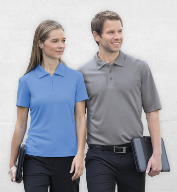 Picture of Gear For Life-WDGOL-Dri Gear Ottoman Lite Polo - Womens