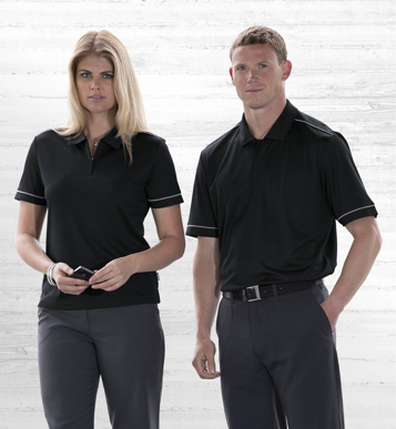 Picture of Gear For Life-WDGMP-Dri Gear Matrix Polo - Womens