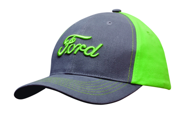 Picture of Headwear Stockist-4001-Brushed Heavy Cotton Contrast Cap