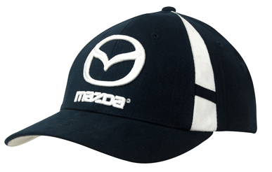Picture of Headwear Stockist-4096-Brushed Heavy Cotton with Crown Inserts & Contrasting Peak Under & Strap