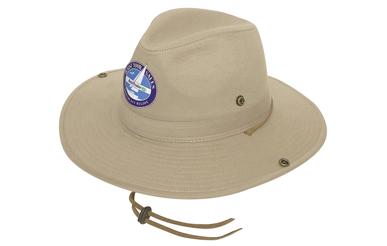 Picture of Headwear Stockist-4275-Safari Cotton Twill Hat