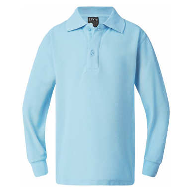 Picture of LW Reid-5220LS-Lord Classic Plain Polo (Long Sleeve)