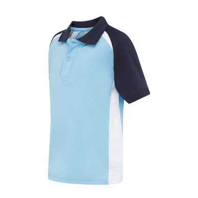 Picture of LW Reid-5911SP-Greenway Raglan Sports Polo