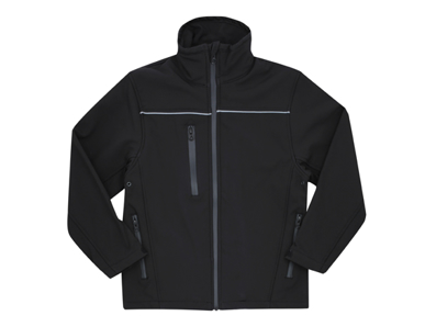 Picture of Midford Uniforms-JKTMSOFT1-CHILDRENS SOFT SHELL JACKET WITH REFLECTIVE(MSOFT01)