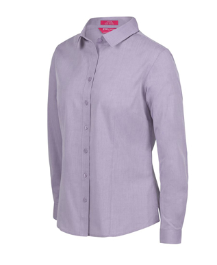 Picture of JBs Wear-4FC1L-JB's LADIES CLASSIC L/S FINE CHAMBRAY