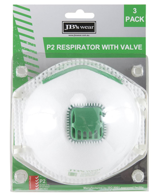 Picture of JBs Wear-8C15-JB'S BLISTER (3PC) P2 RESPIRATOR WITH VALVE (Not Availiable at this time)