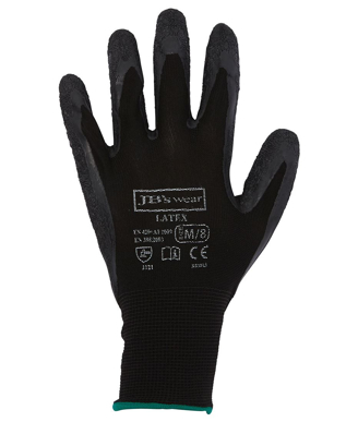 Picture of JBs Wear-8R003-JB'S BLACK LATEX GLOVE (12 PACK)