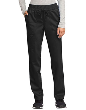 Picture of Cherokee-CH-WW105-Cherokee Workwear Revolution Women's Mid Rise Tapered Leg Drawstring Pant