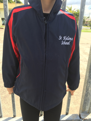 Picture of St Helens State School Spray Jacket