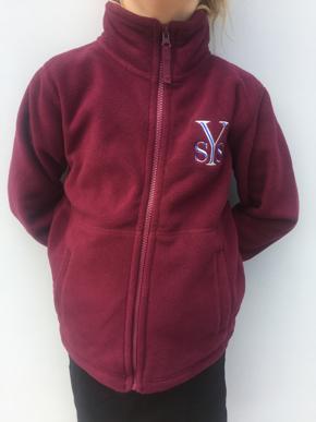 Picture of Yarrilee State School Fleece Jacket
