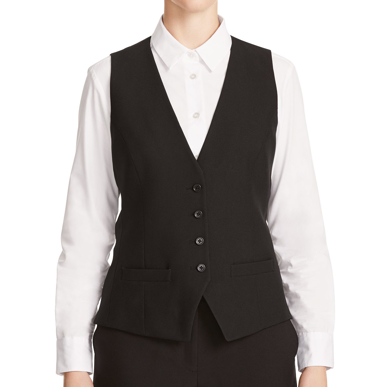 Picture of NNT Uniforms-CAT1DK-BLK-Tailored Waistcoat