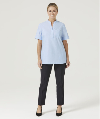 Picture of NNT Uniforms-CATUGA-BLU-Short Sleeve Tunic