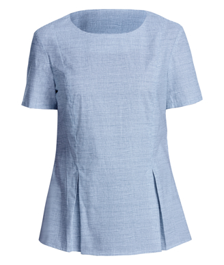 Picture of NNT Uniforms-CATU5X-CBW-Short Sleeve Peplum Top