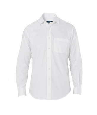 Picture of NNT Uniforms-CATDWY-WHT-Long Sleeve Shirt