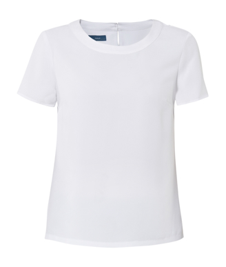 Picture of NNT Uniforms-CATU2N-WHT-Short Sleeve Shell Top