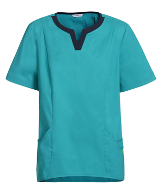 Picture of NNT Uniforms-CATU5A-MNN-Fleming round neck scrub top