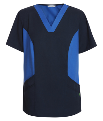 Picture of NNT Uniforms-CATU5B-NAV-Nightingale V-neck scrub top