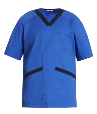 Picture of NNT Uniforms-CATJ2Q-BLU-Koller V-Neck Scrub Top