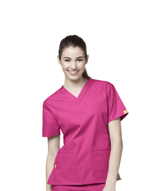 Picture of NNT Uniforms-CATU66-HPK-Scrub top Bravo